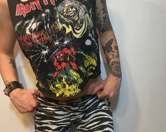 Iron Maiden Cut Off T