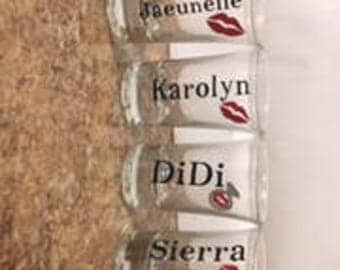 Personalize Shot Glasses set of 4