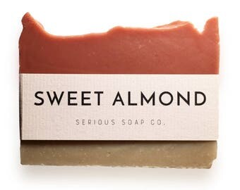 Sweet Almond Soap - 100% all natural soap