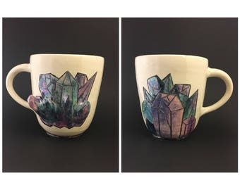 Iridescent Crystal Mug