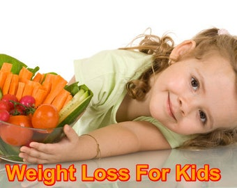 Healthy Diet And Weight Loss For Kids - Weight control of children  eBook PDF Digital Download!