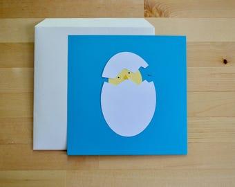 hi i'm new here - baby shower card