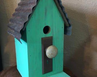 Handmade Birdhouse!
