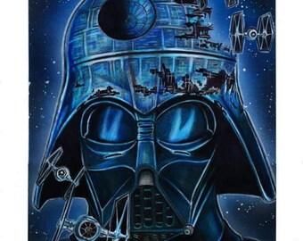 Original Darth Vader Drawing
