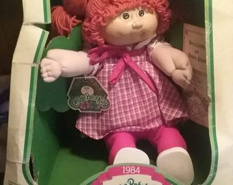 Original 1984 cabbage patch kids has never been out of box but the box is rough