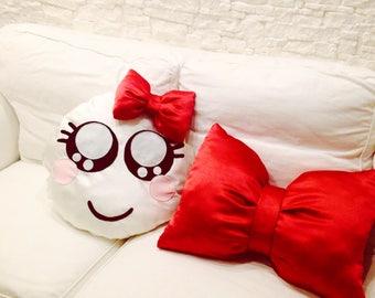 Pillow bow emoticon