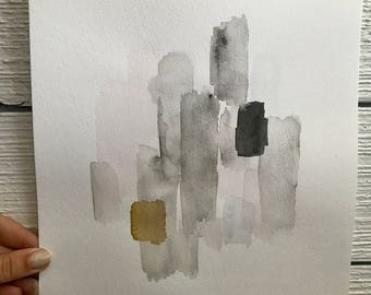 handpainted abstract watercolor