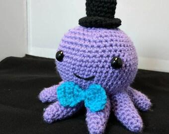 Crochet Octopus Tophat
