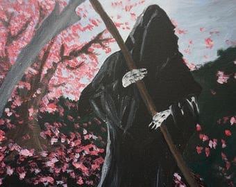 Cherry tree, Grim Reaper