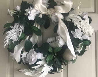 Winter Owl Wreath