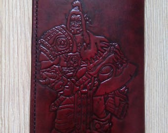 """Leather wallet """"Warcraft"""""""