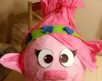 Poppy the Toll Pinata