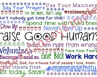 Raise Good Humans (Printable)