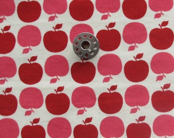 FAT EIGHTH Apple Dot from the Farmers Market Collection by Sandi Henderson for Michael Miller | OOP Apple Print Quilting Cotton