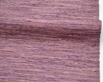 Vintage silk kimono bolt  - Purple and pink Tsumugi -9 yards
