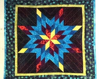 Lone Star Quilt Etsy