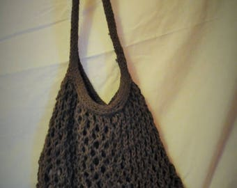 Moving Sale Amazing Stretchy Knitted Carry All - Latte - Brown