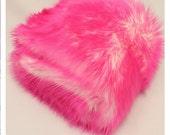 Pink Pussy faux fur Kitty hat - Cotton Candy Shaggy Pink Pussy hat - Pink & White  - fleece lined  pink - Womens March Washington DC Jan 21