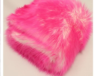 Pink Pussy faux fur Kitty hat - Cotton Candy Shaggy Pink Pussy hat - Pink & White  - fleece lined  pink - Womens March Washington DC Jan 21