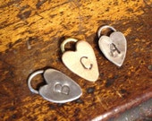RESERVED LISTING / custom charms - sterling silver, bronze