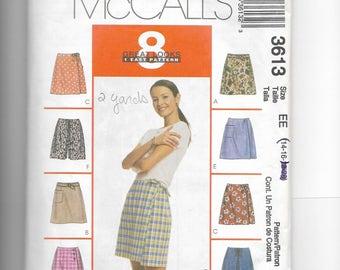 McCall's Misses' Skorts Pattern 3613