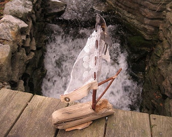 DRIFTWOOD SAILBOAT #5
