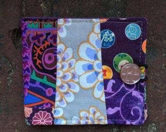 Needle book, needlebook, sewing notion, purple
