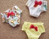 3 panties for Blythe, Lati Yellow, Ming, Meng and Mong  SET F