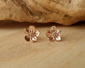 ON SALE Buttercup Studs-Rose Gold
