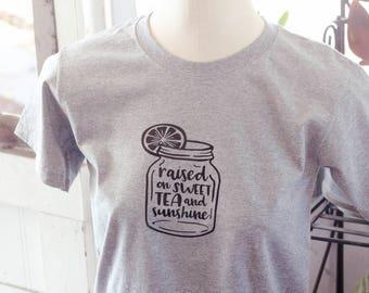 Sunshine and Sweet Tea Youth Shirt