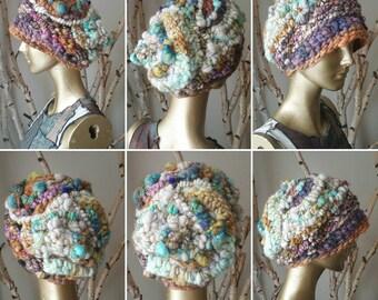 Free Form Crochet Hat