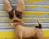 Flash Sale Primitive Doll, Dog, Brown, Chihuahua Chico