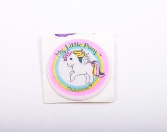 My Little Pony, Vintage, Puffy Sticker, Starshine, Accessory, Unused, Round Sticker, Came with Ponies ~ The Pink Room ~ 161122