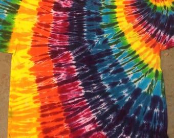 tie dye size 4XL Rainbow Swirl shirt tye die tiedyes