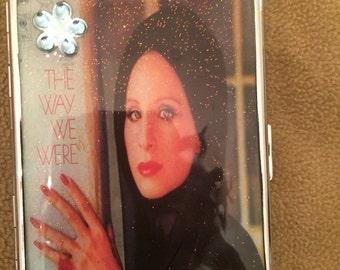 Barbara Streisand The Way We Were 1-Clip Cigarette Case Business Credit Card Holder