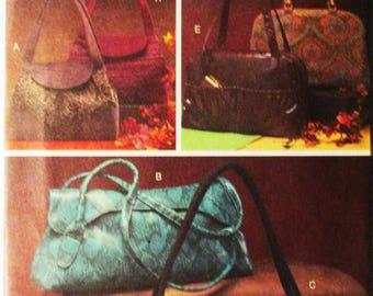Craft Sewing Pattern Vogue 8139 Handbag Pattern Purse Pattern Uncut