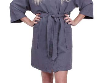 Monogram Robe, Bridesmaid Robes, Bridesmaid Gifts, Waffle Robe, Monogrammed Bridesmaid Gift, Robe, Wedding Robe