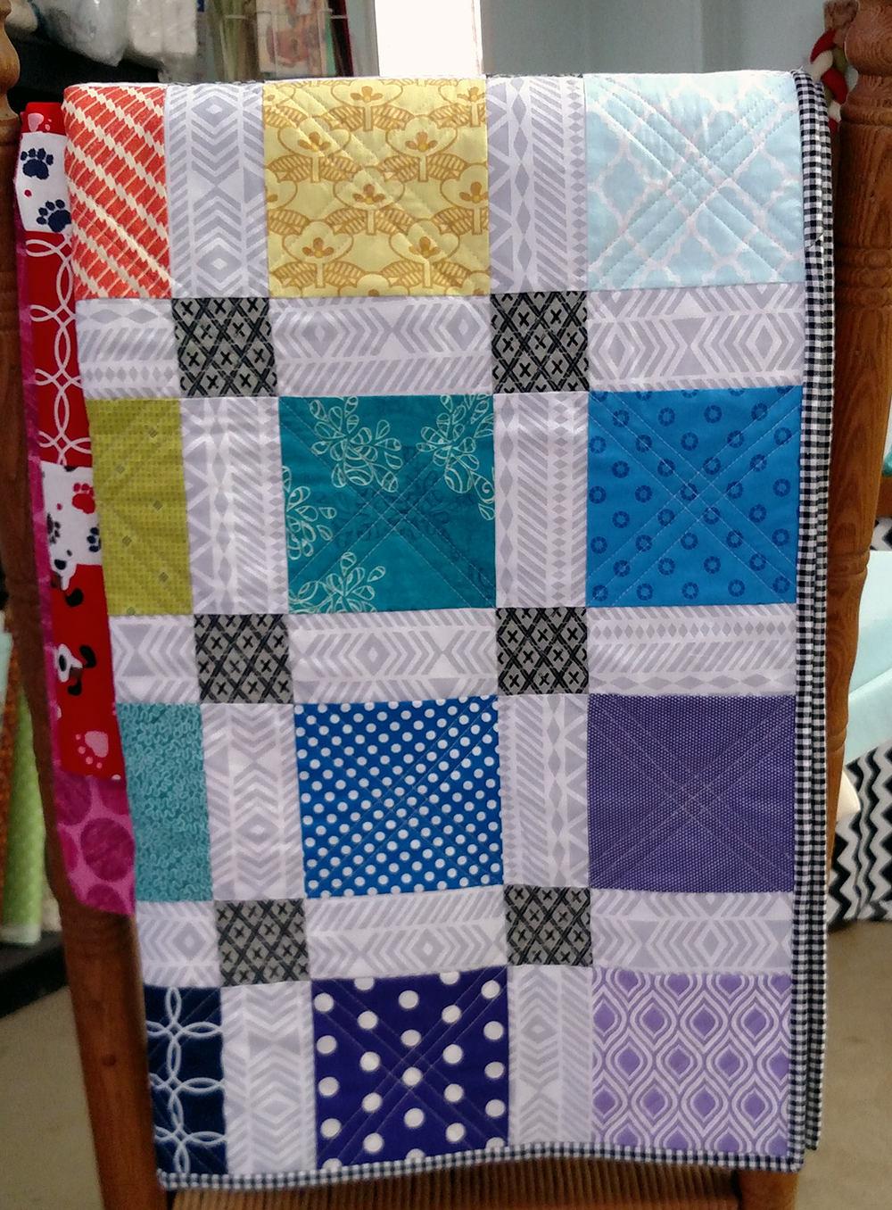 42 Color Wheel Charm Squares Quilting Fabric Bundle