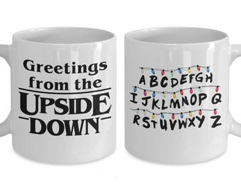 STRANGER THINGS Greetings from the UPSIDE Down Coffee Mug