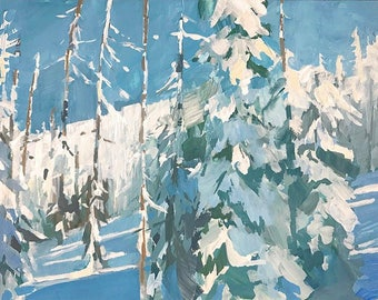 Spruce - limited edition print