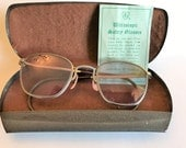 Vintage American Optical Ultrascopic Safety Glasses in Original Case