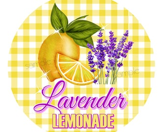 Lavender Lemonade Stickers, Lemon Stickers, Picnic, Fruit stickers, Fruit Labels, Lemonade Stand, Vintage, Retro Lemonade