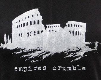 empires crumble unisex tee
