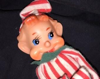 Vintage Kneeling Christmas Elf