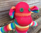 Rainy the pride sock monkey