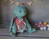 OOAK Handmade 7 inch Viscose Artist Teddy Bunny Grace