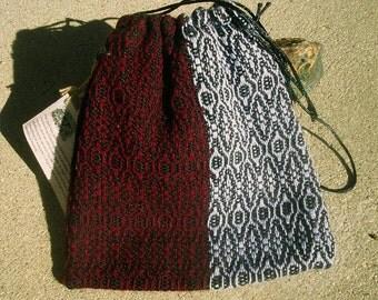 Jester Handwoven Drawstring Bag