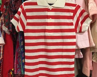 NOS 1970s Boys Shirt 6/7
