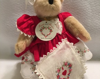"Muffy Vanderbear ""Hearts and Flowers Collection:"