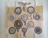 Textile Art Piece - gobles